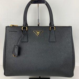 New Prada Italian Galleria Lux Medium Zip Tote